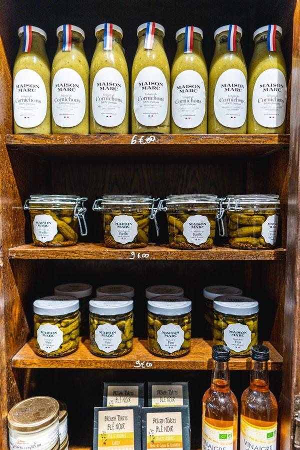 épicerie de produits locaux bretons